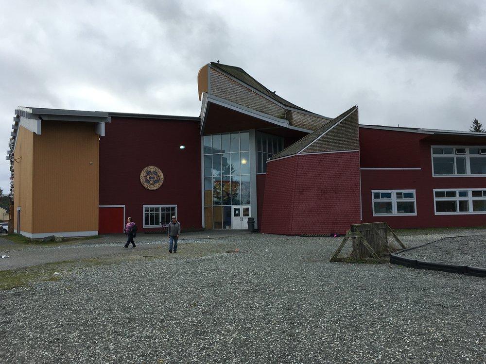 Bella Bella Community School (in the shape of an eagle)