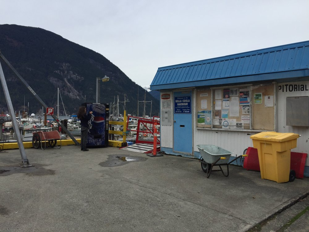 Leaving Bella Coola
