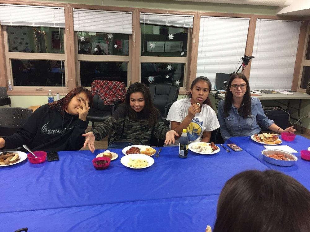 Hailey, Latoya, Nadia and Cheyenne