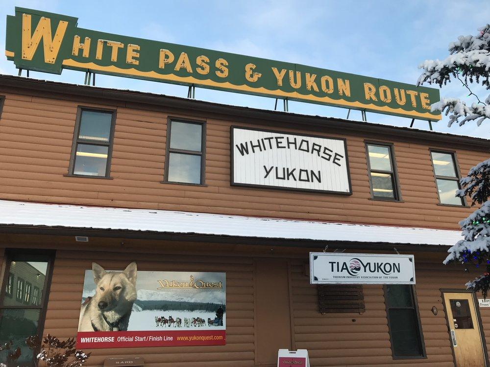 1,000-mile International Sled Dog Race, called the Yukon Quest, every February between Fairbanks, Alaska, and Whitehorse, Yukon