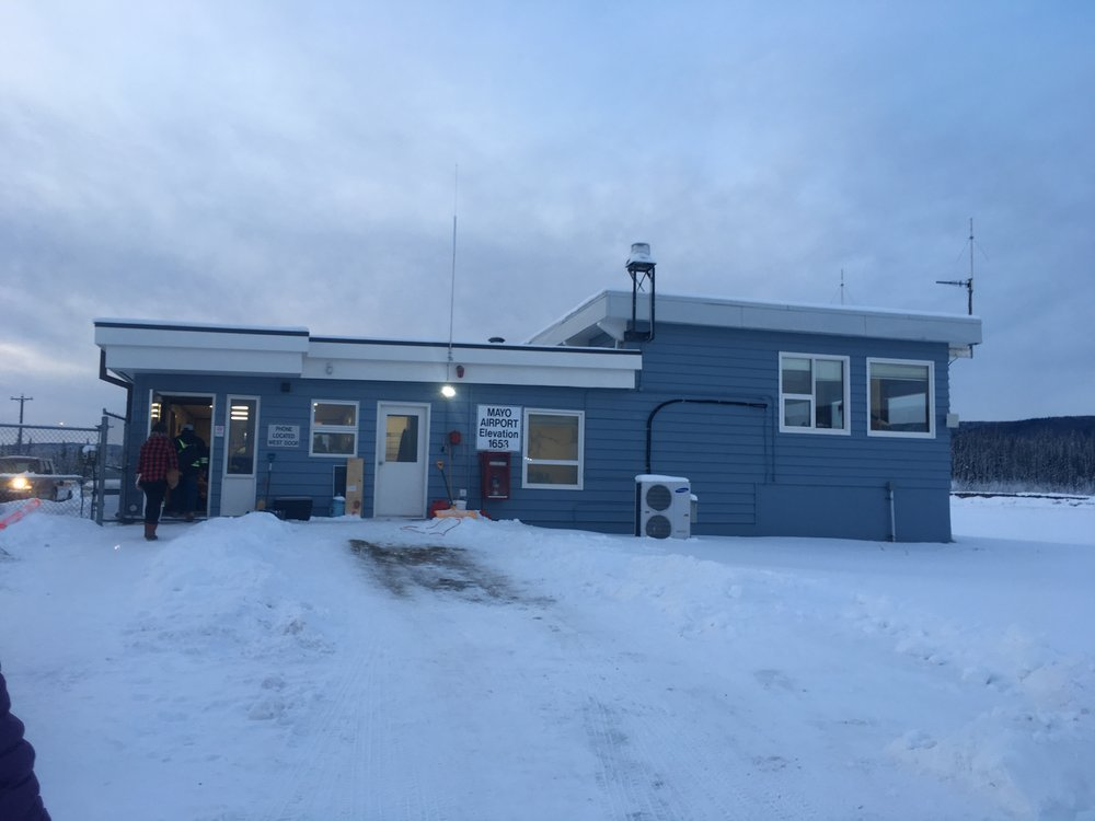 A stop in Mayo, Yukon for Cheryl and Tracy on the way to Inuvik, NWT