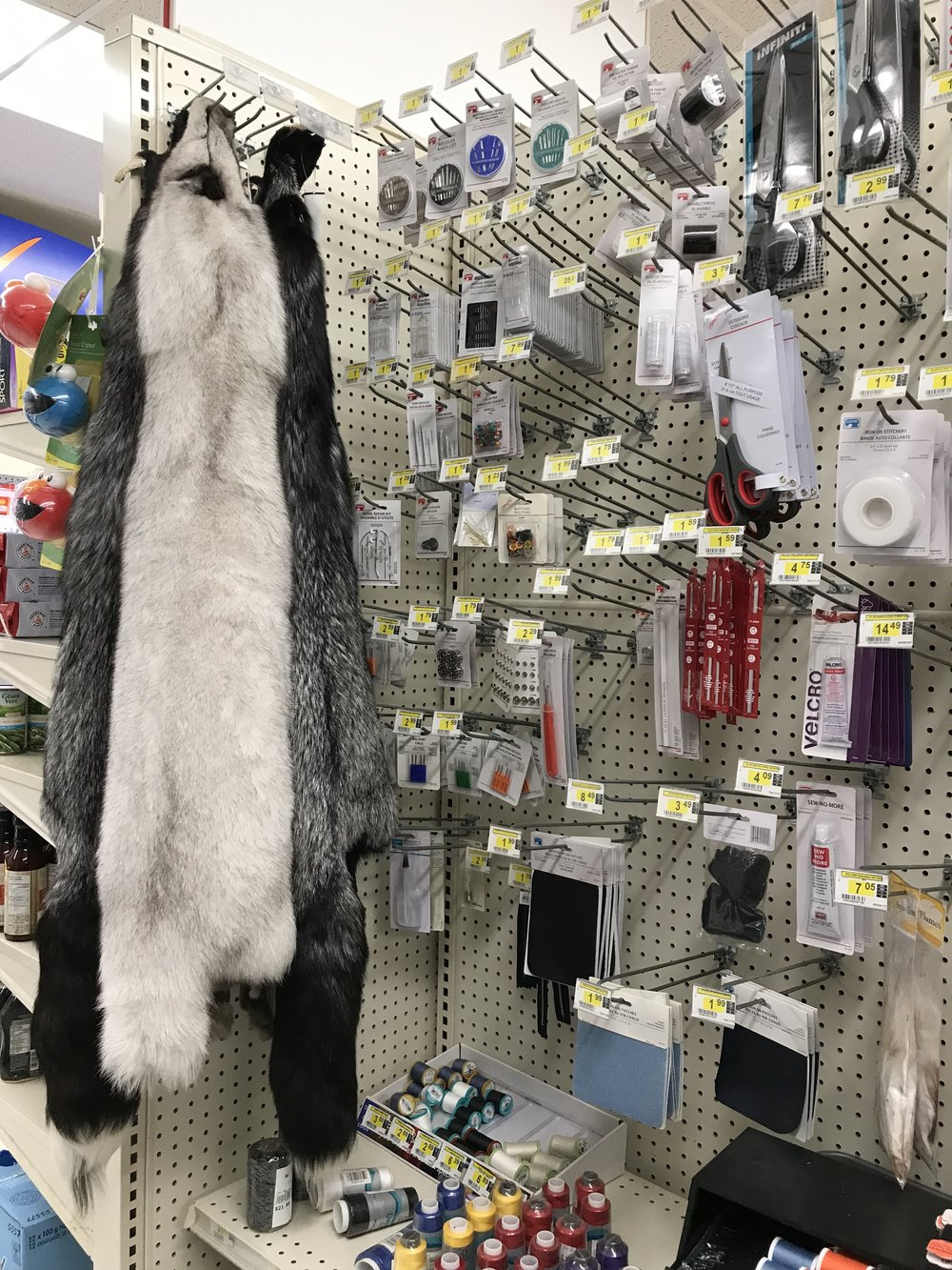 Furs at the northern store