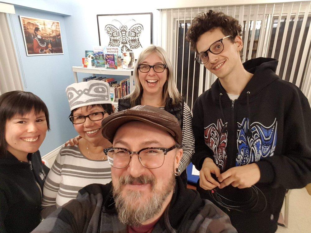 Courntey, Marlene, Glenn, Lisa g & Jackson! The Wednesday Crew!