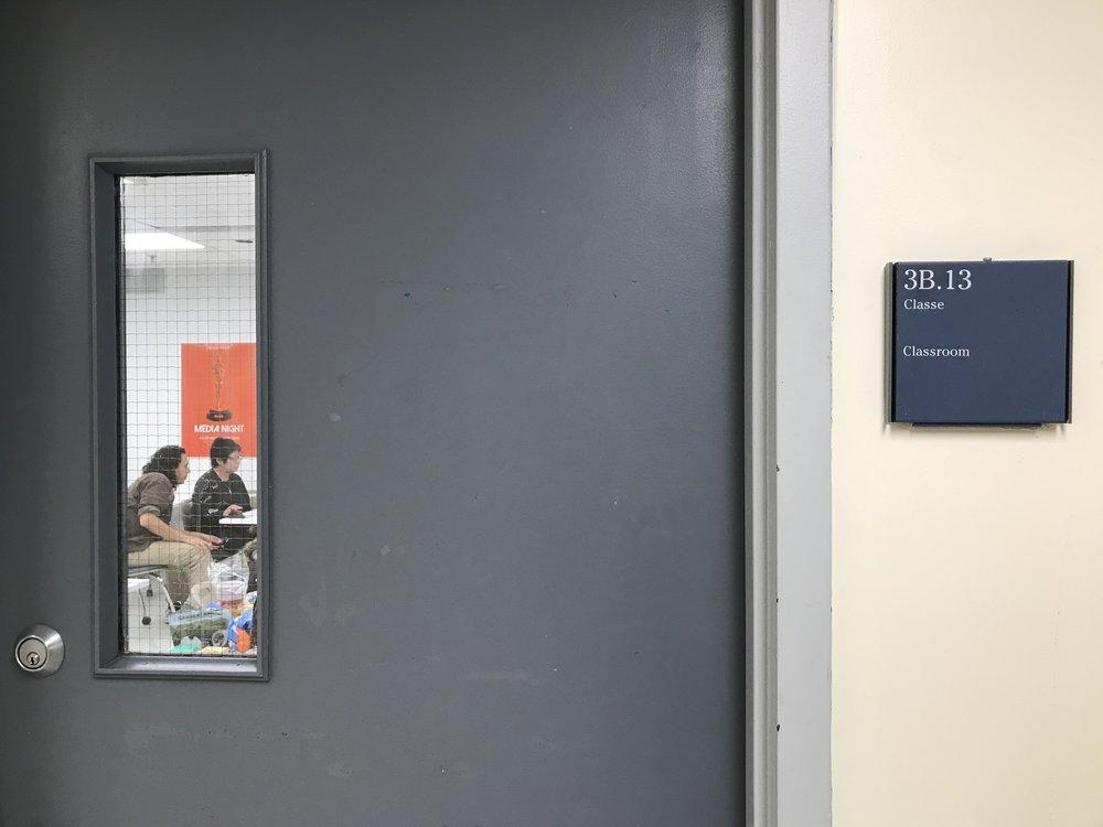 Our workshop room
