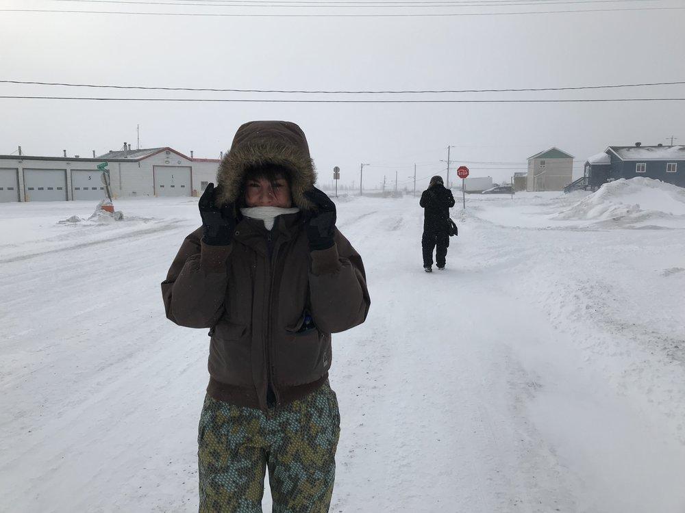 A windy walk around Kuujjuaq