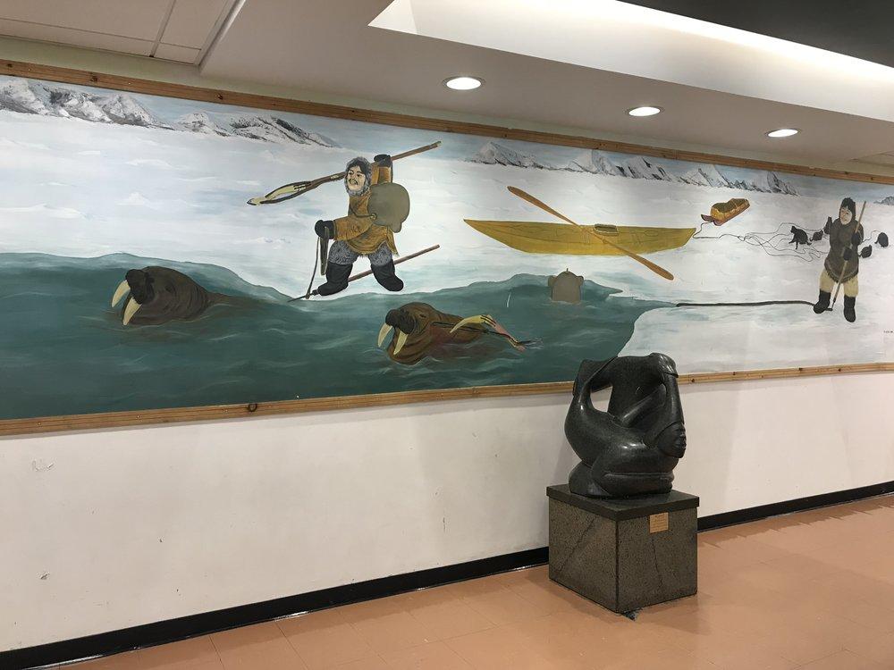 More artwork in the school!