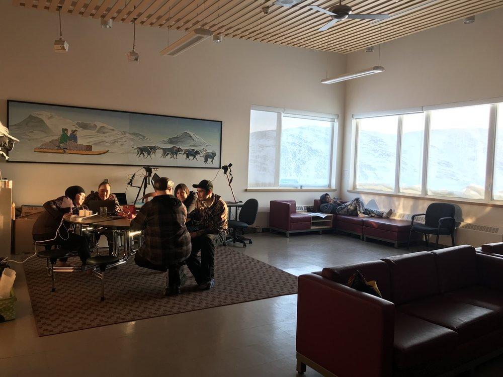 The wonderful workshop space
