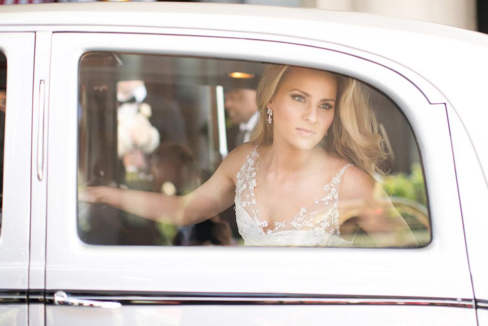 Seattle Bride Rolls-Royce Portrait