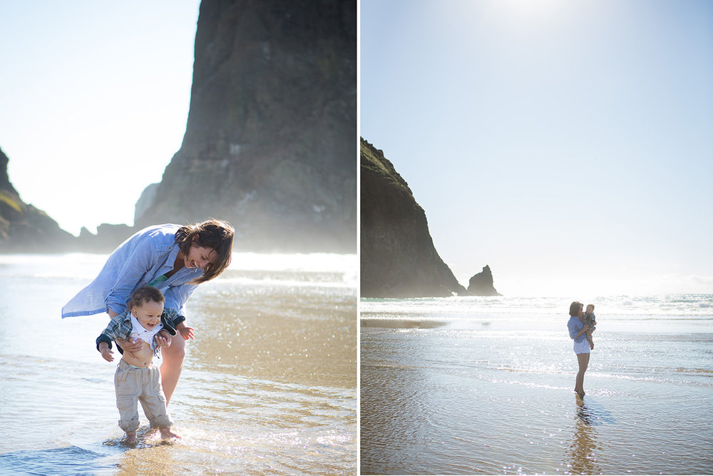 Cannon Beach Family photo