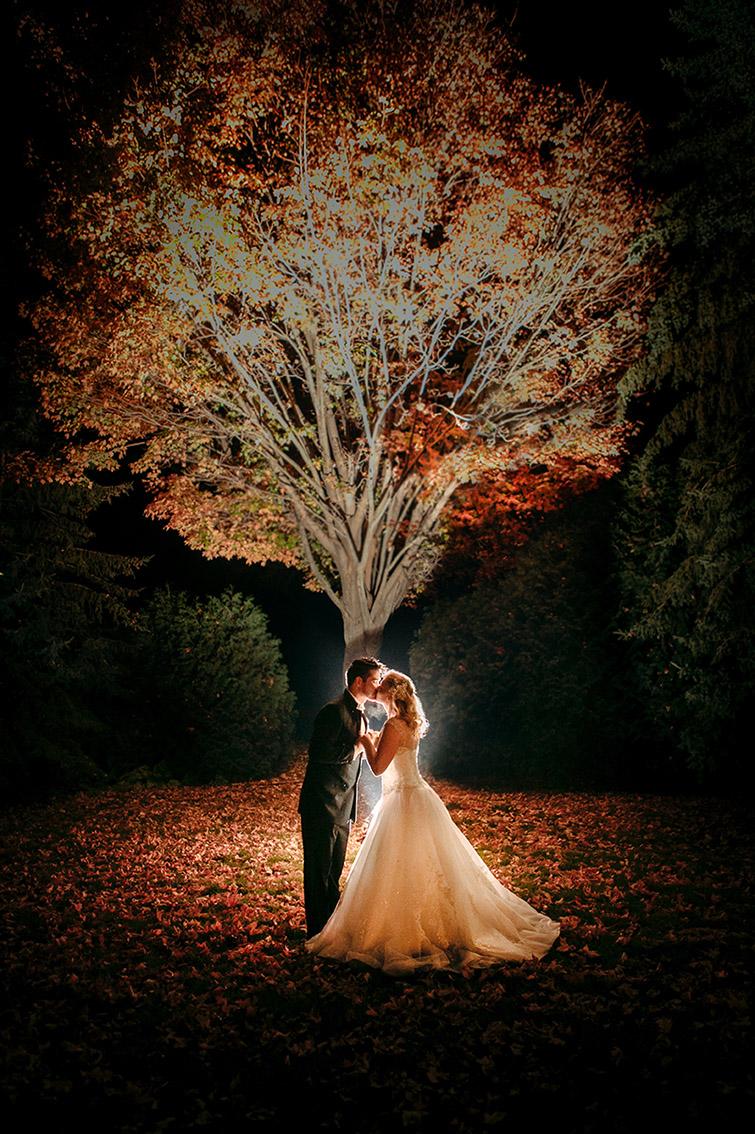 Seattle Wedding Autumn Bride and Groom