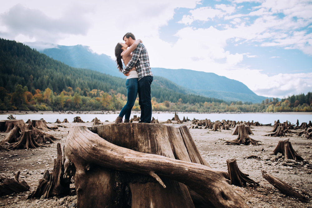 Rattlesnake Lake Kiss