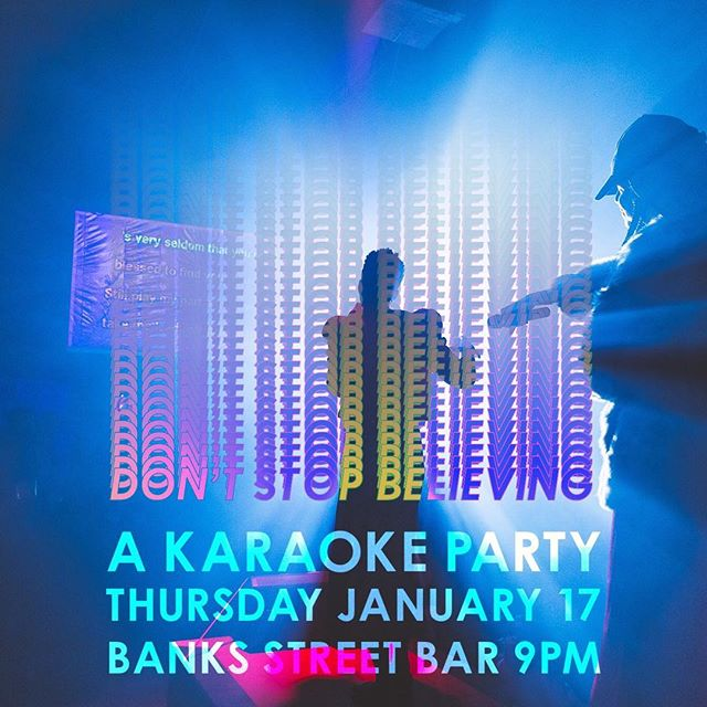 After our brief hibernation, it feels good to be back in the groove, getting ready for Carnival here in New Orleans.  Tonight we'll be hosting a karaoke party at @banksstreetbar featuring all your favorite songs and voices and multiple identities.  Join us, no shame and no regrets... 😍