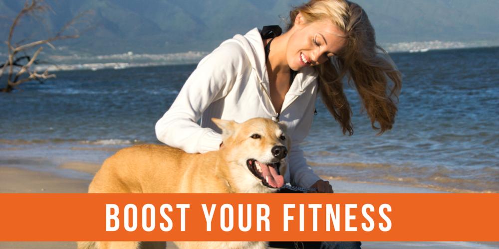 pets boost fitness
