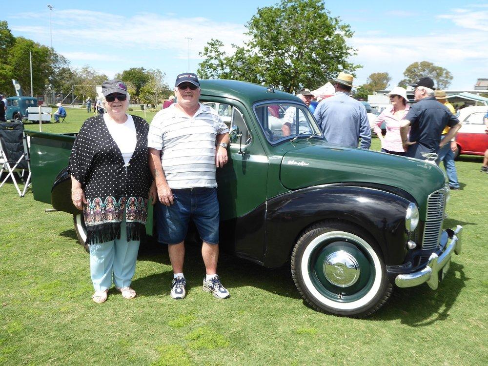 Pat & Brenda's A40 Pickup