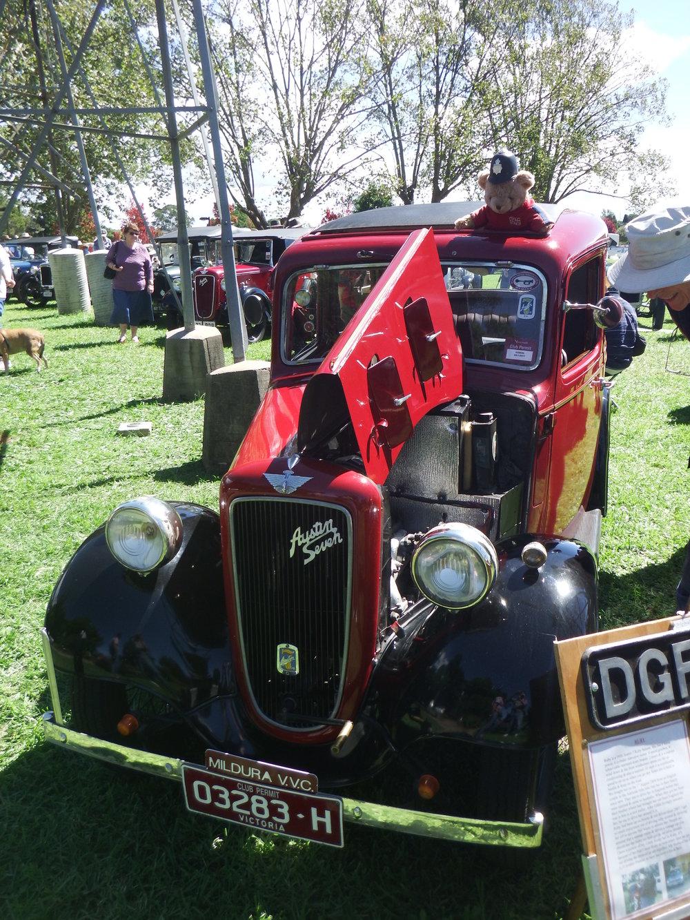 "1936 Austin 7 ""Ruby"""
