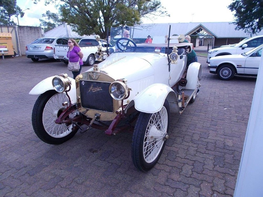 1910 Austin 15hp (oldest at AOA 2017)