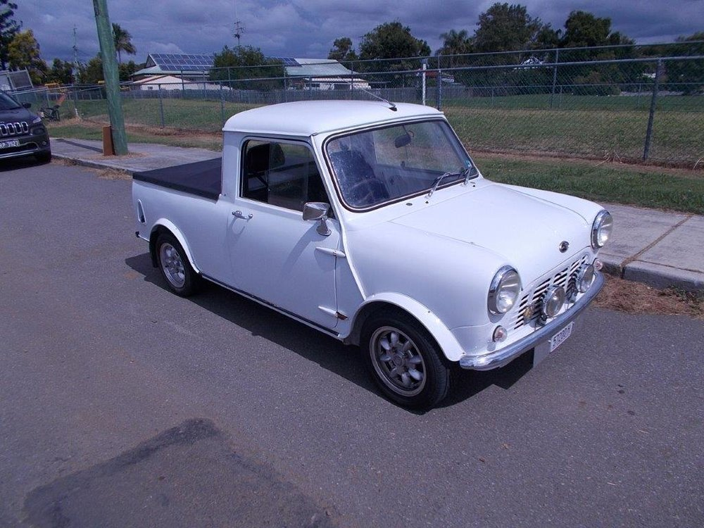 1972 Austin Mini Pick Up