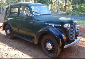 Austin 8 as purchased