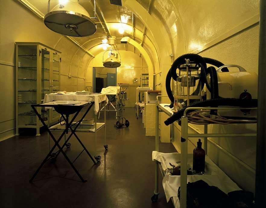 Tunnel hospital