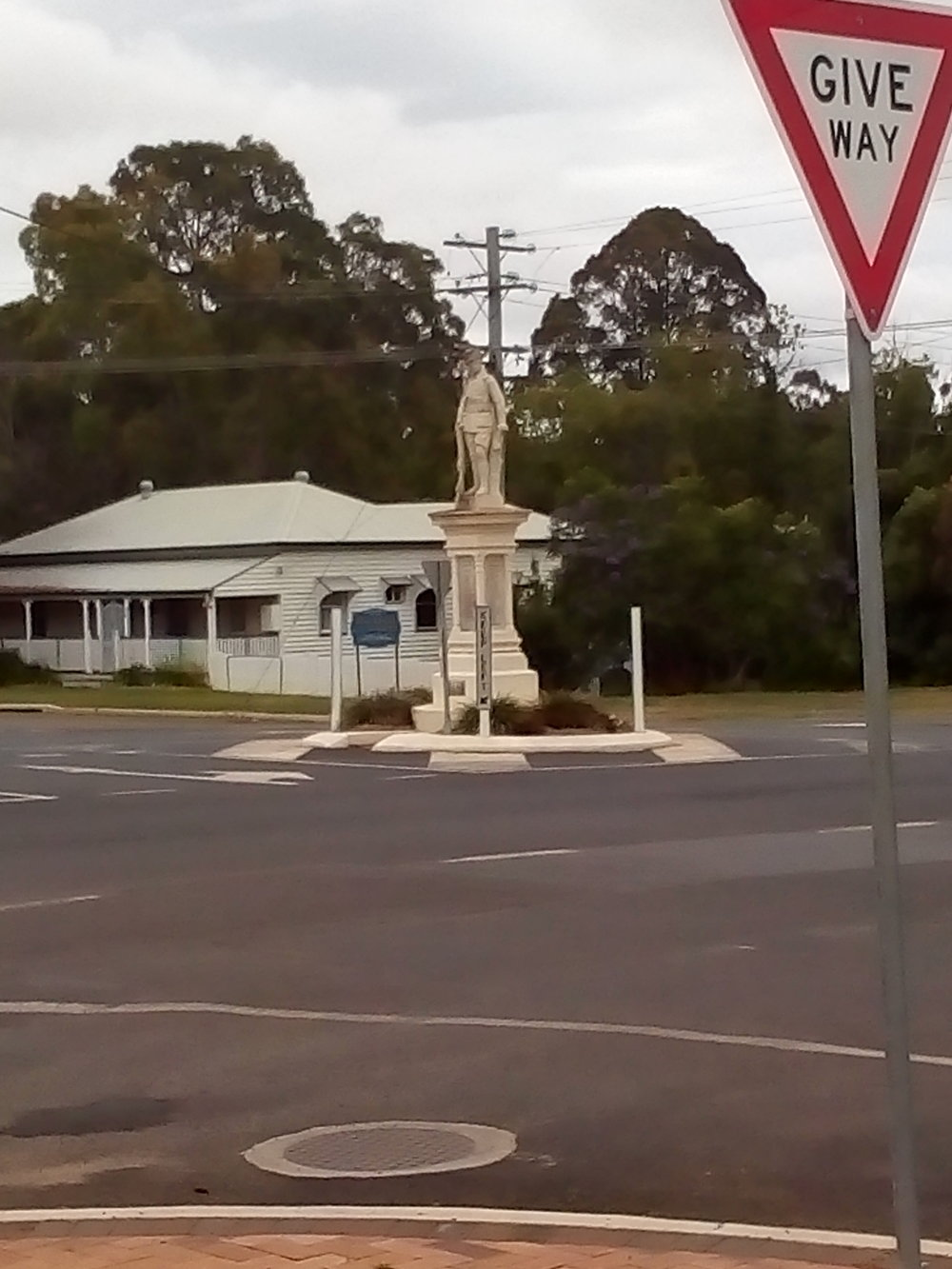 The lovely town of Blackbutt