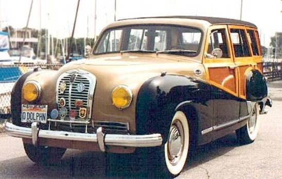British Austin A70 Countryman