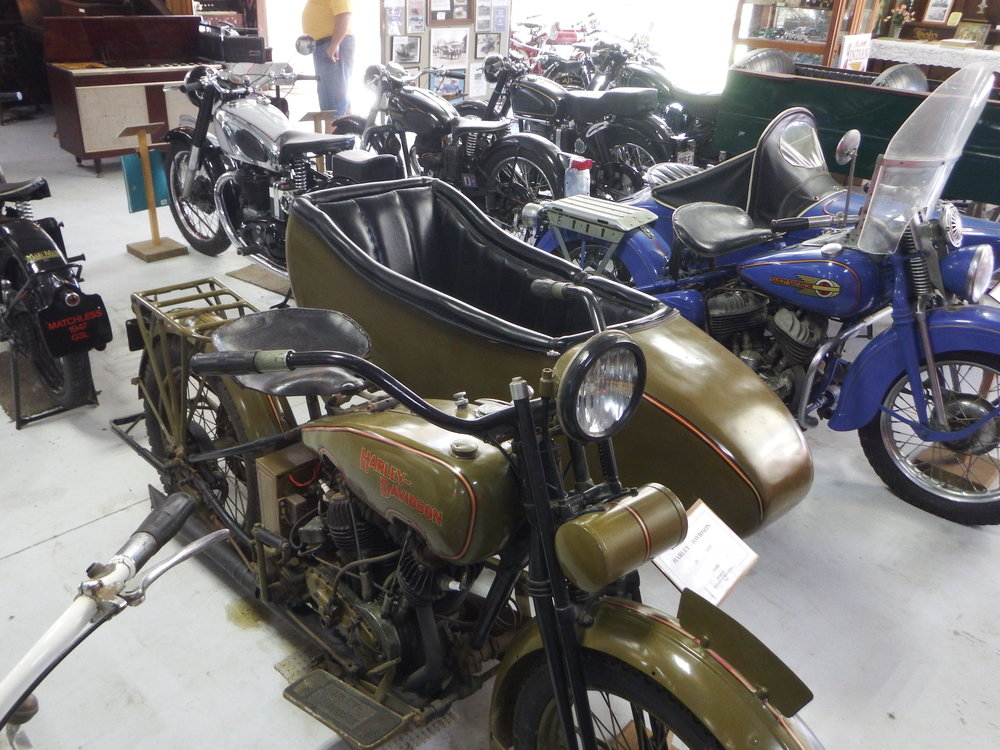 1925 Harley-Davidson with sidecar