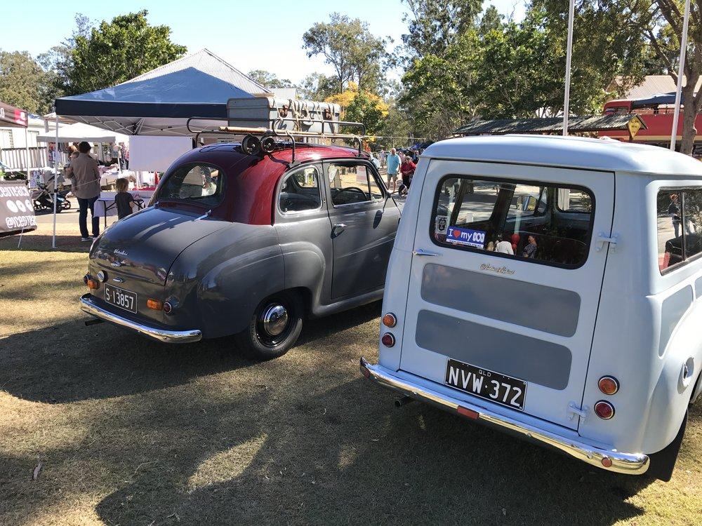 Robert's A30 & Andrew's Van