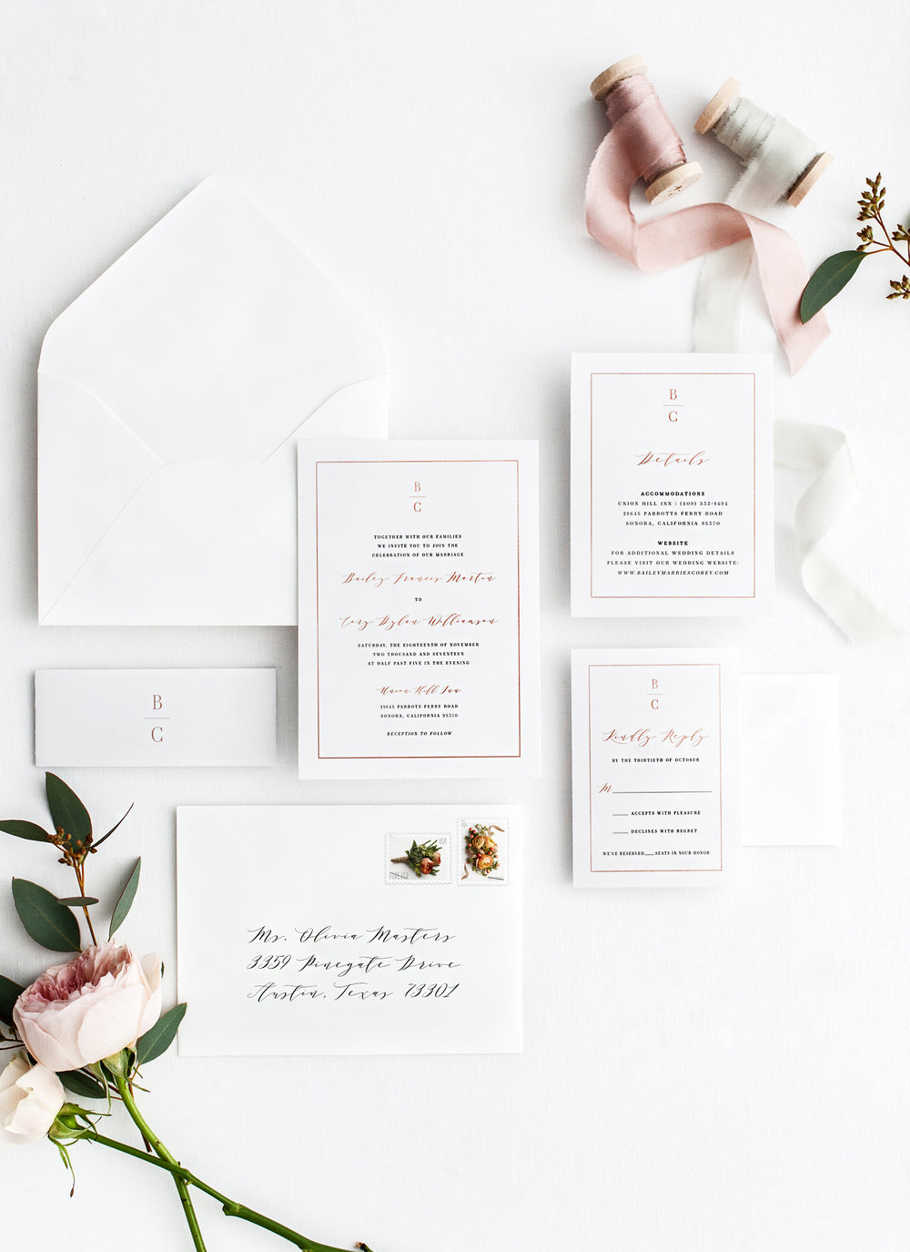 Semi Custom Collection Wedding Invitations The Brumby Nest