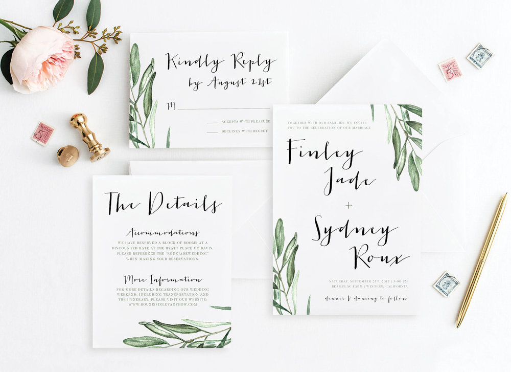 Olive Branches + Greenery