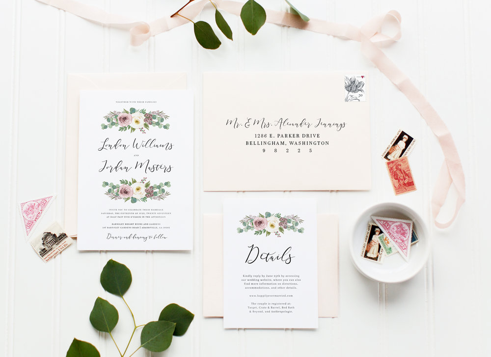 Muted Rustic Florals