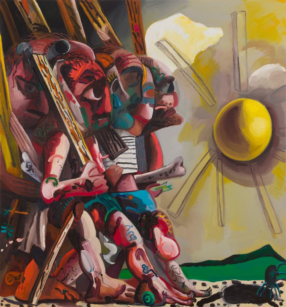 Dana Schutz - Beat out the sun.jpeg