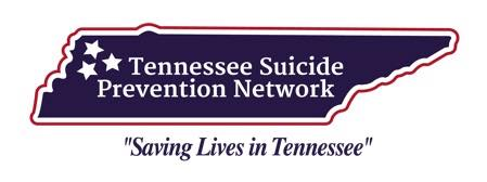 Tennessee Suicide Prevention Network - The Tennessee Suicide Prevention Network (TSPN) is a grass-roots association which includes counselors, mental health professionals, physicians, clergy, journalists, social workers, and law enforcement personnel, as well as survivors of suicide and suicide attempts. TSPN works across the state to eliminate the stigma of suicide and educate communities about the warning signs of suicide, with the ultimate intention of reducing suicide rates in the state of Tennessee. For more resources on suicide prevention, click on their logo!