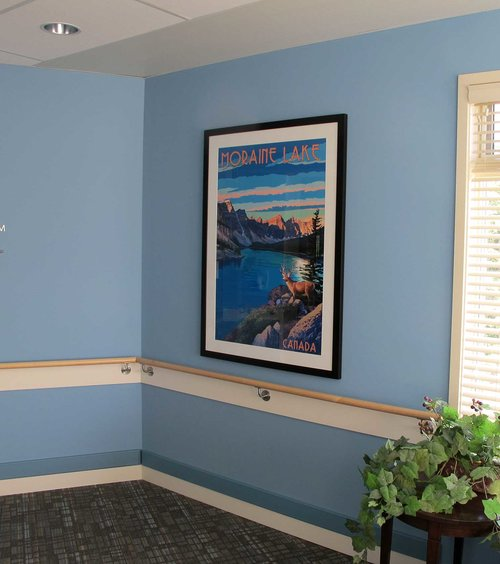 Custom picture frames art consultants in calgary its worth framing framed print in the father lacombe sisters of providence residence installation framing by its worth framing solutioingenieria Choice Image