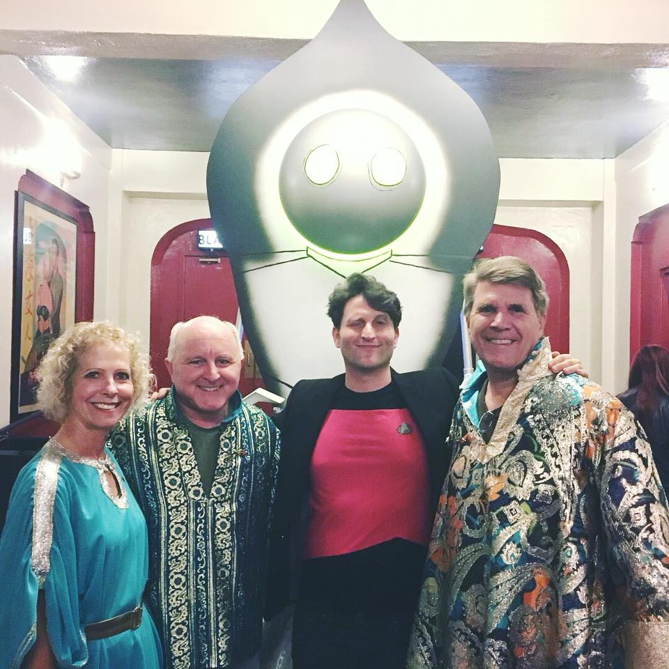 Brad Abrahams, Unarians and the Flatwoods Monster at The Space Visitors Film Festival 2017