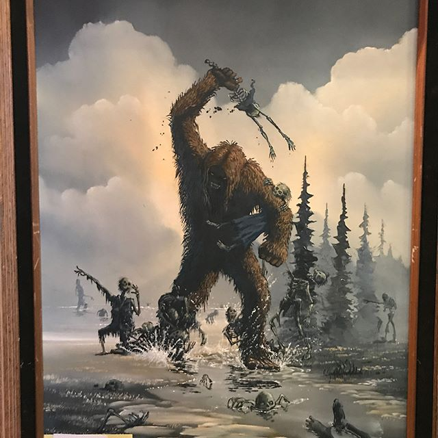 #Bigfootart #bigfoot #cryptozoology #cryptozoologist