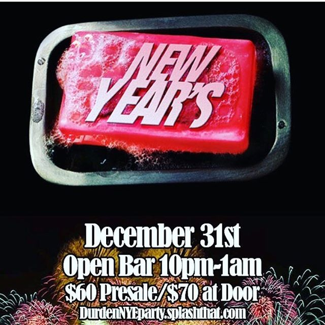 Tomorrow night ring in the new year with a 3 hour open bar (10pm-1am). $60 with RSVP, $70 at the door. DJs @olcheezy and @prodby.donb  will be spinning all night. RSVP link in bio. 🎉🎊🎉🎊