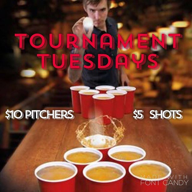 Who's ready for some #BeerPong?!