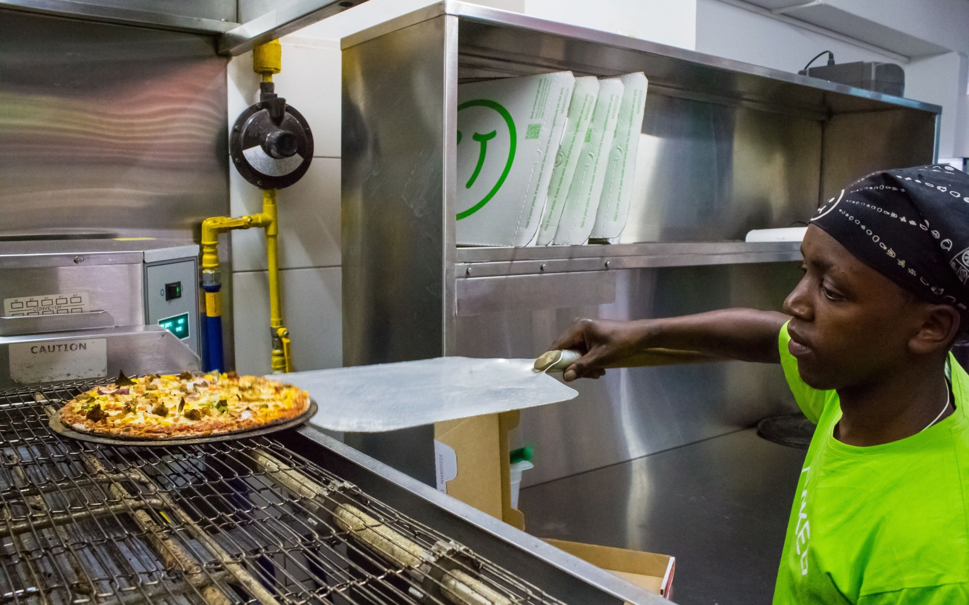 Naked Pizza in Nairobi, via Forbes