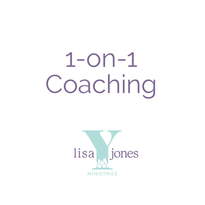 1-on-1 Coaching Lisa Y Jones