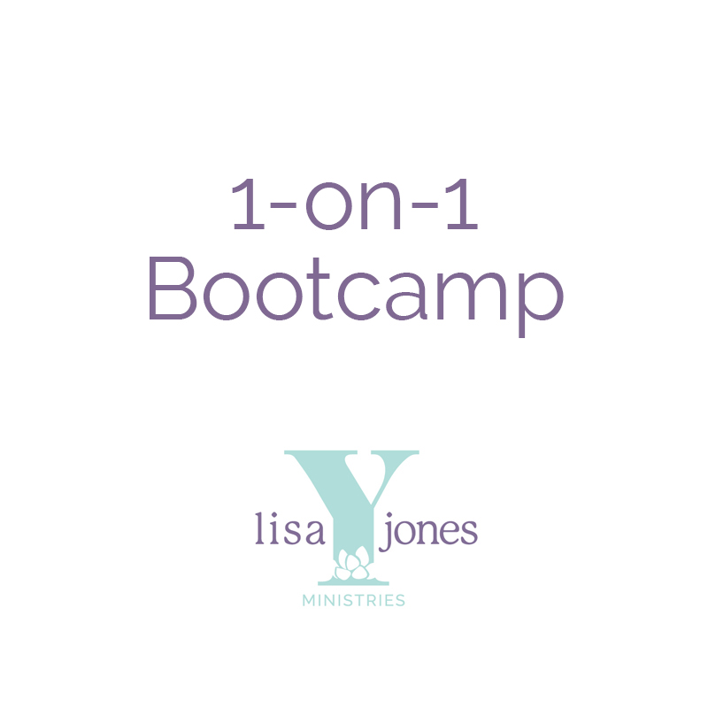 1-on-1 Bootcamp Lisa Y Jones