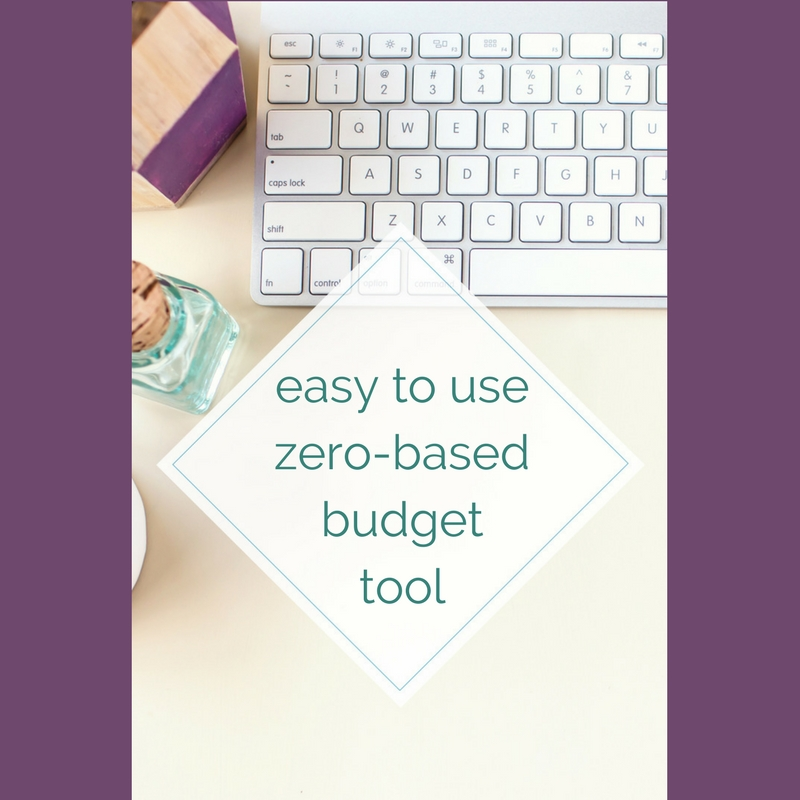 Easy To Use Zero-Based Budget Tool