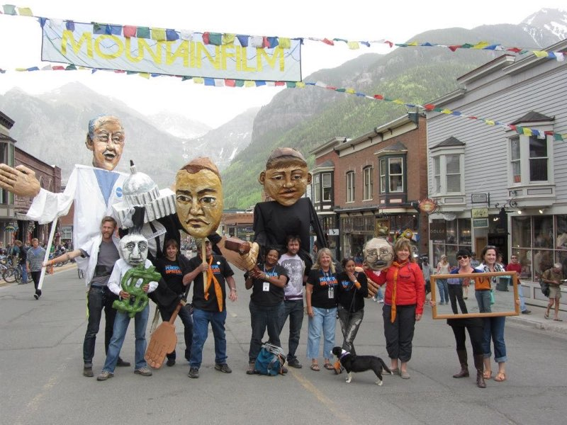 The Climate Trial Puppets by Cori Redstone