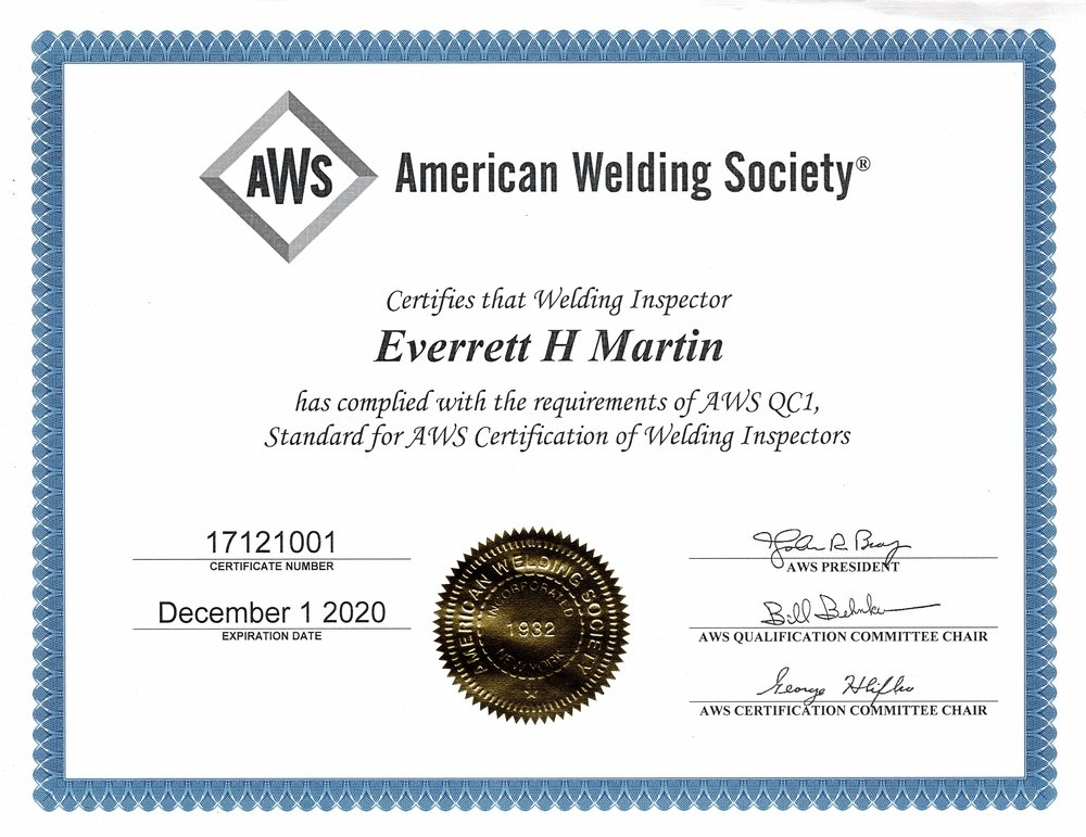 Certificationsv12 Martin Quality Services
