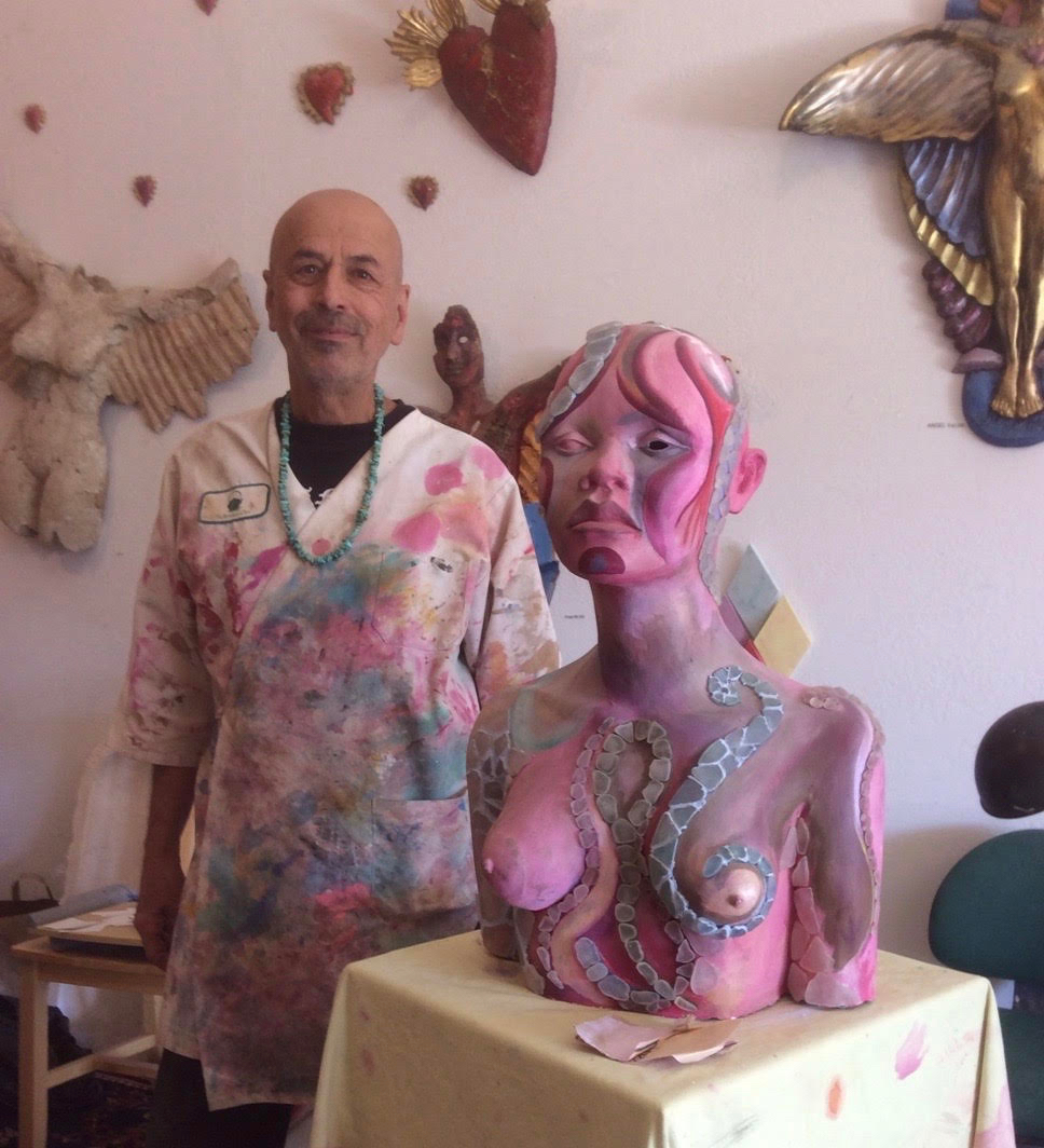 welcome! - I am a mixed media artist creating spiritually infused, mystically influenced, heart based art in beautiful Point Reyes Station, California.In all my work I strive to create pieces that act as portals for the spirit and vehicles for personal discovery.