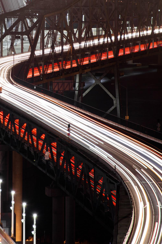 Original Western Span of the Bay Bridge -  San Francisco CA