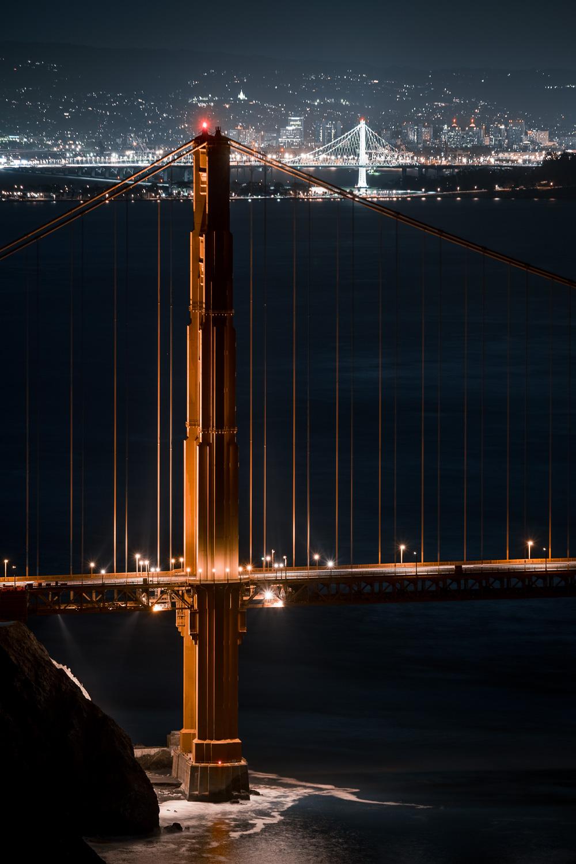 The Golden Gate & Bay Bridge - Marin Headlands, San Francisco CA
