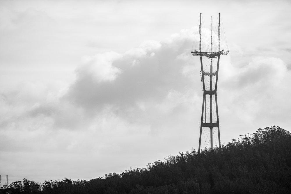 Sutro Tower - San Francisco CA