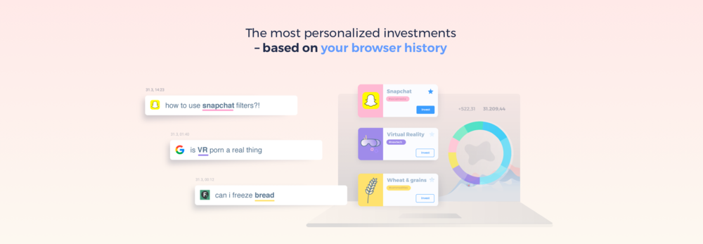 Invest in your Browser history | Selma Finance
