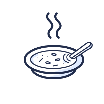 34 - selbst gekochte Team-Mittagessen