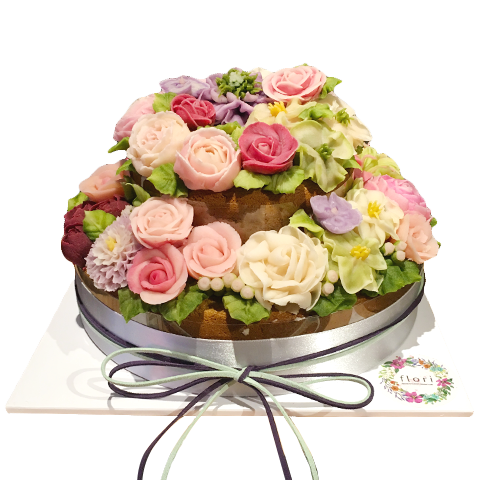 Flower Piping Cake Decoration Class